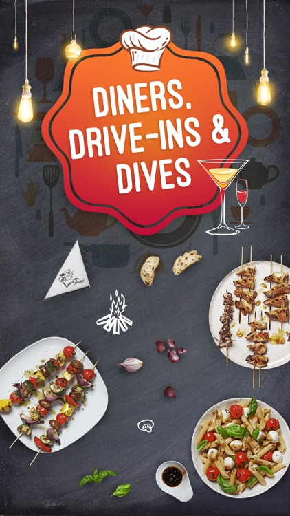 Great App for Diners Drive-ins & Dives Locations