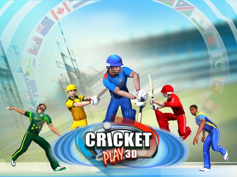 Cricket Play 3D - Live The Game (World Pro Team Challenge Cup 2016)-ipad-0