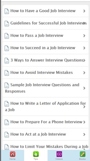 interview tips learn how to make the best impression on the app store