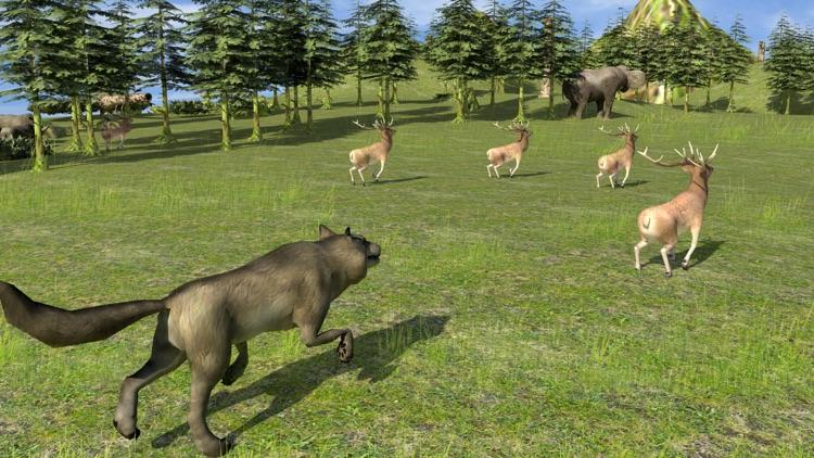 Forest Wild Life Simulator 3D screenshot-3
