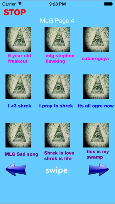 Screenshot #4 for Illuminati Soundboard