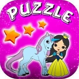Princess Puzzles Slide