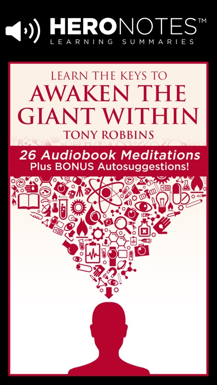 Awaken The Giant Within Meditation Book by Tony Robbins