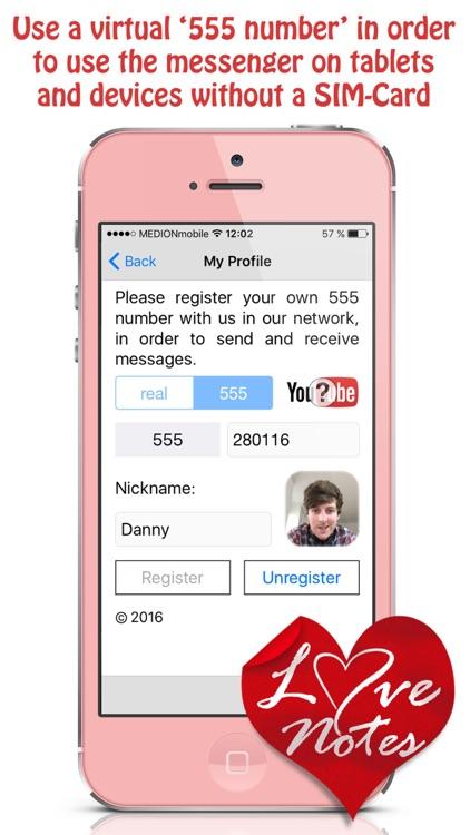 Love Notes Secure Messenger