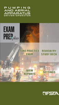 Pumping and Aerial Apparatus Driver Operator 3rd Edition Exam Prep Plus iphone images