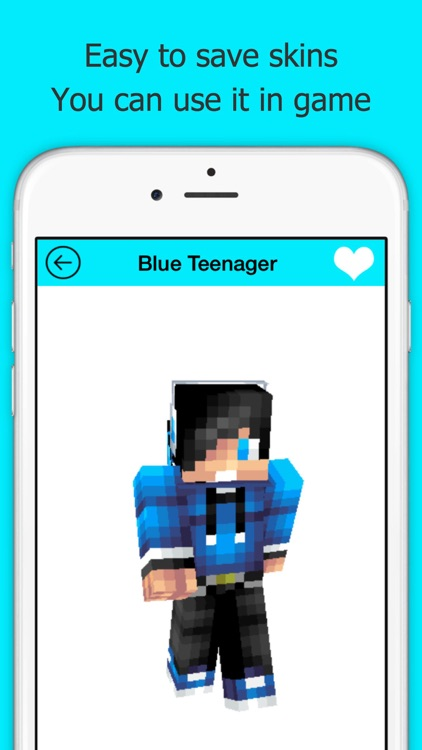 Best New Skins for Minecraft PE screenshot-3