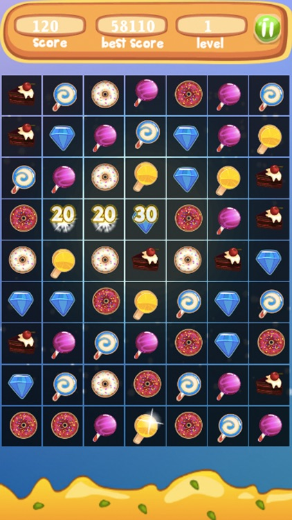 Sweet Blast Cupcake- Amazing Match3 Puzzle screenshot-3