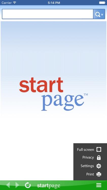 StartPage Search screenshot-3