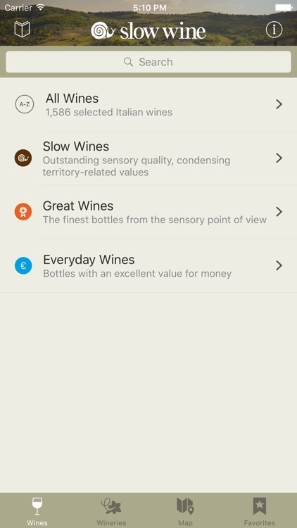 Slow Wine 2016 - The Wine Guide by Slow Food screenshot-0