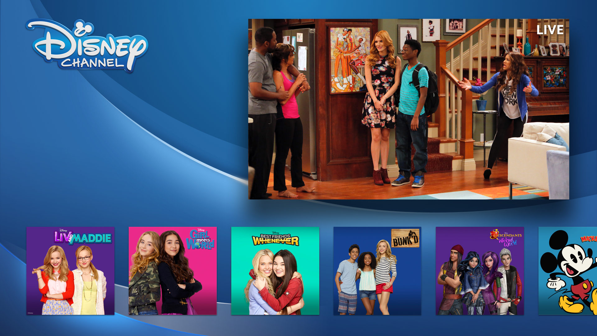 DisneyNOW – Episodes & Live TV screenshot 9