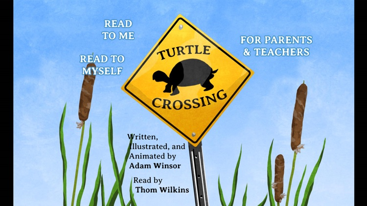 Turtle Crossing - An Animated, Interactive Storybook App screenshot-0