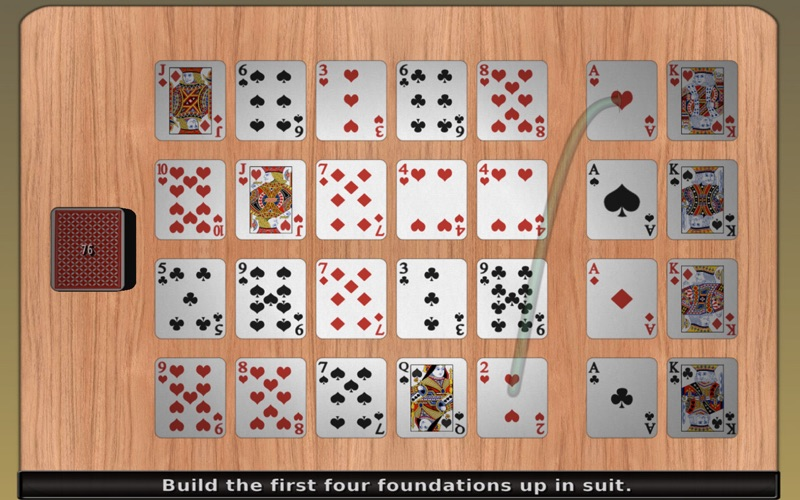 Free Solitaire 3D Screenshot