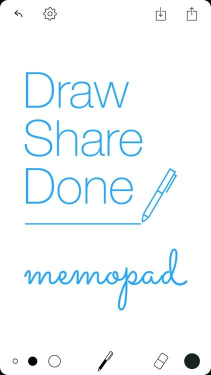 Tayasui Memopad - Draw, share, it's done! screenshot-4