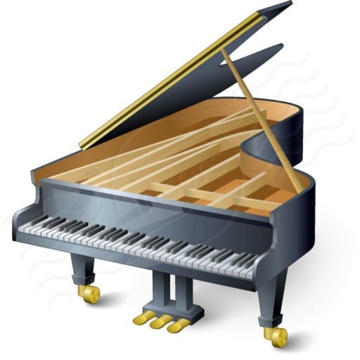 Piano Emoji: Keyboard Stickers and Chat Icons icon