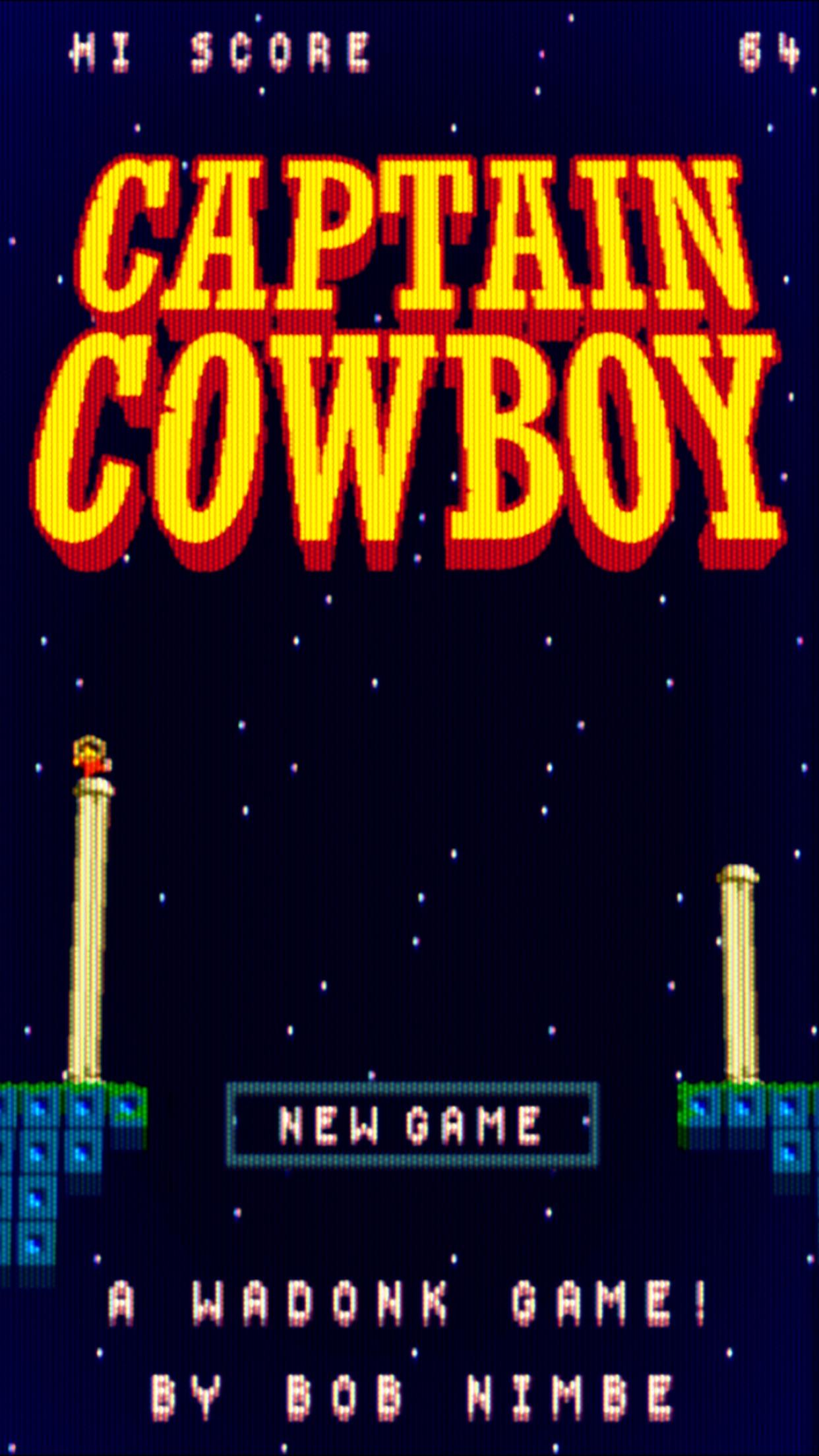 Screenshot do app Captain Cowboy
