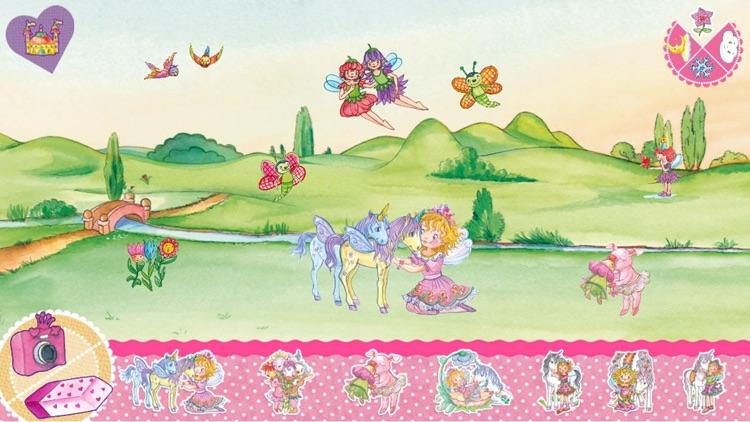 Prinzessin Lillifee und das Einhorn – Bildergeschichte, Malspaß, Stickerzauber screenshot-3