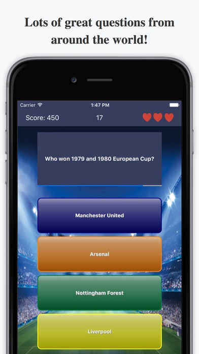 Ultimate Football Quiz - For Premier League & more screenshot two