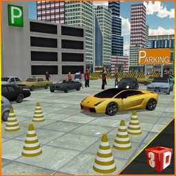 Shopping Mall Car Parking – Drive & park vehicle in this driver simulator game