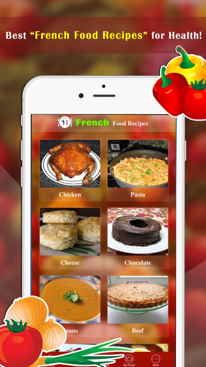 French Food Recipes screenshot-0