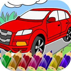 Activities of Cars Coloring.