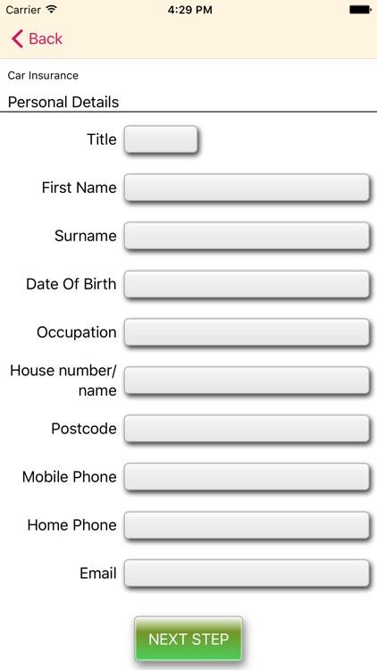 Insurance UK screenshot-3