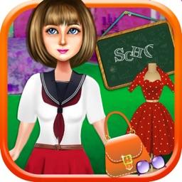 School Daze Dress Up - Back to School Kids & Teens Makeover Game