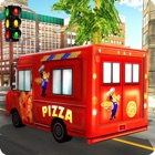 Pizza Delivery Van Simulator - fast food chauffeur de camion jeu de simulation icon