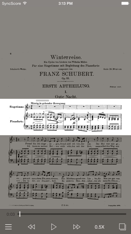 Schubert Winterreise - SyncScore screenshot-0