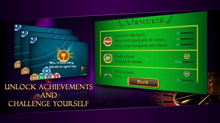 AE Blackjack - Free Classic Casino Card Game with Trainer screenshot-4