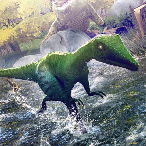 динозавры мини 3д игра . драконы Зоопарк лучшие симулятор гонки для детей