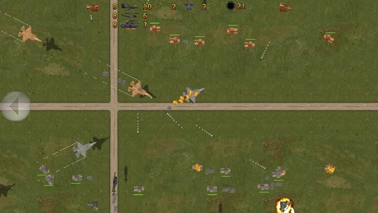 Tank Battle 2D screenshot-0