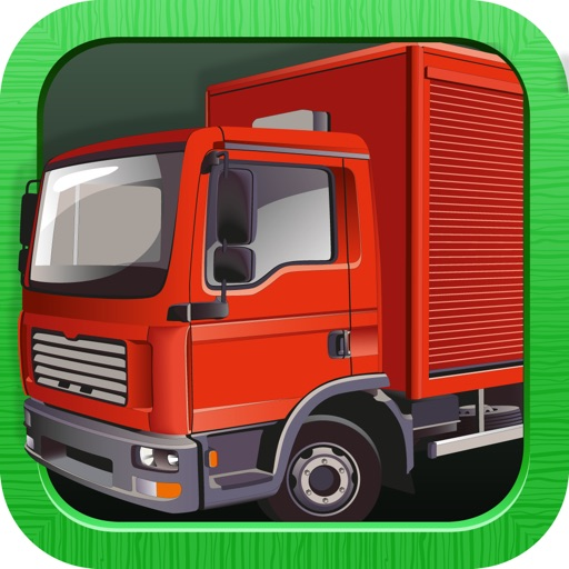 Cool Puzzles: Trucks (for kids and toddlers)