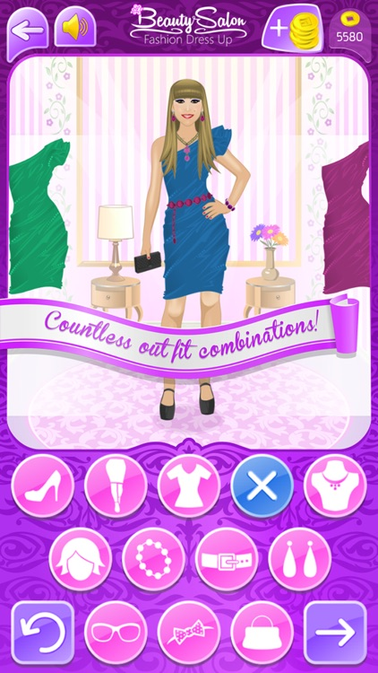 Beauty Salon - Fashion Dress Up and Makeover Girls Games