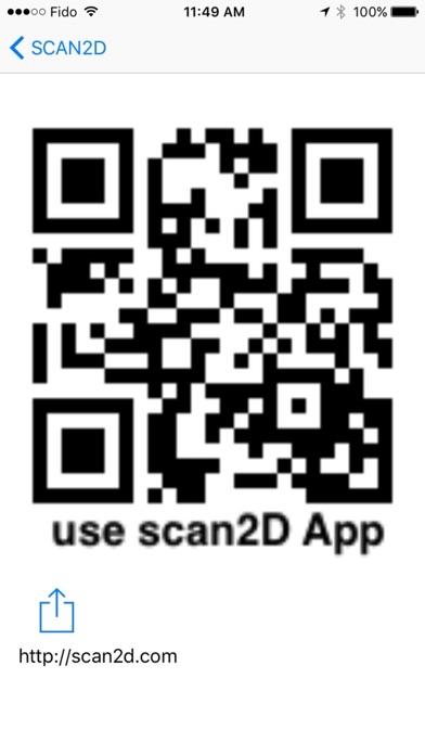 scan2D - QR code scanner, management tools Screenshot on iOS