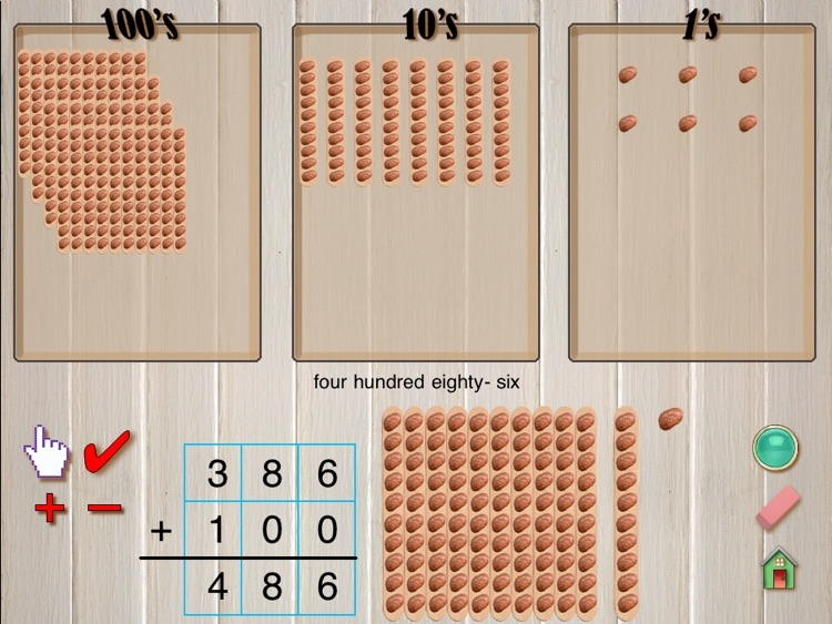 Hands-On Math: Bean Sticks