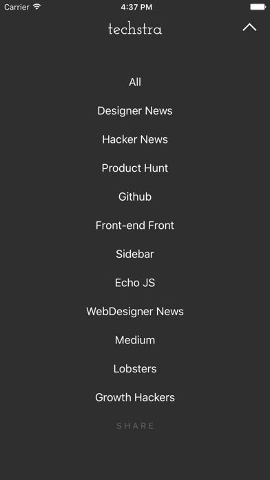 Techstra Screenshot