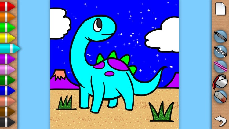 Sparkling Color Book - Coloring Pages for Boys and Girls screenshot-3