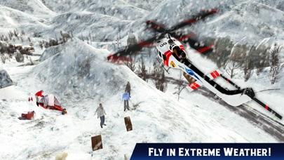 救急車ヘリコプターパイロットゲーム:フライトシミュレータのスクリーンショット2