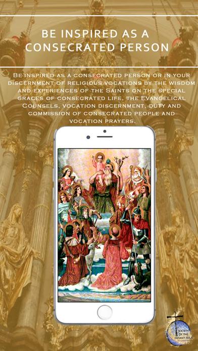 GAUDETE – Catholic Faith Resources App of Infant Jesus Society screenshot two