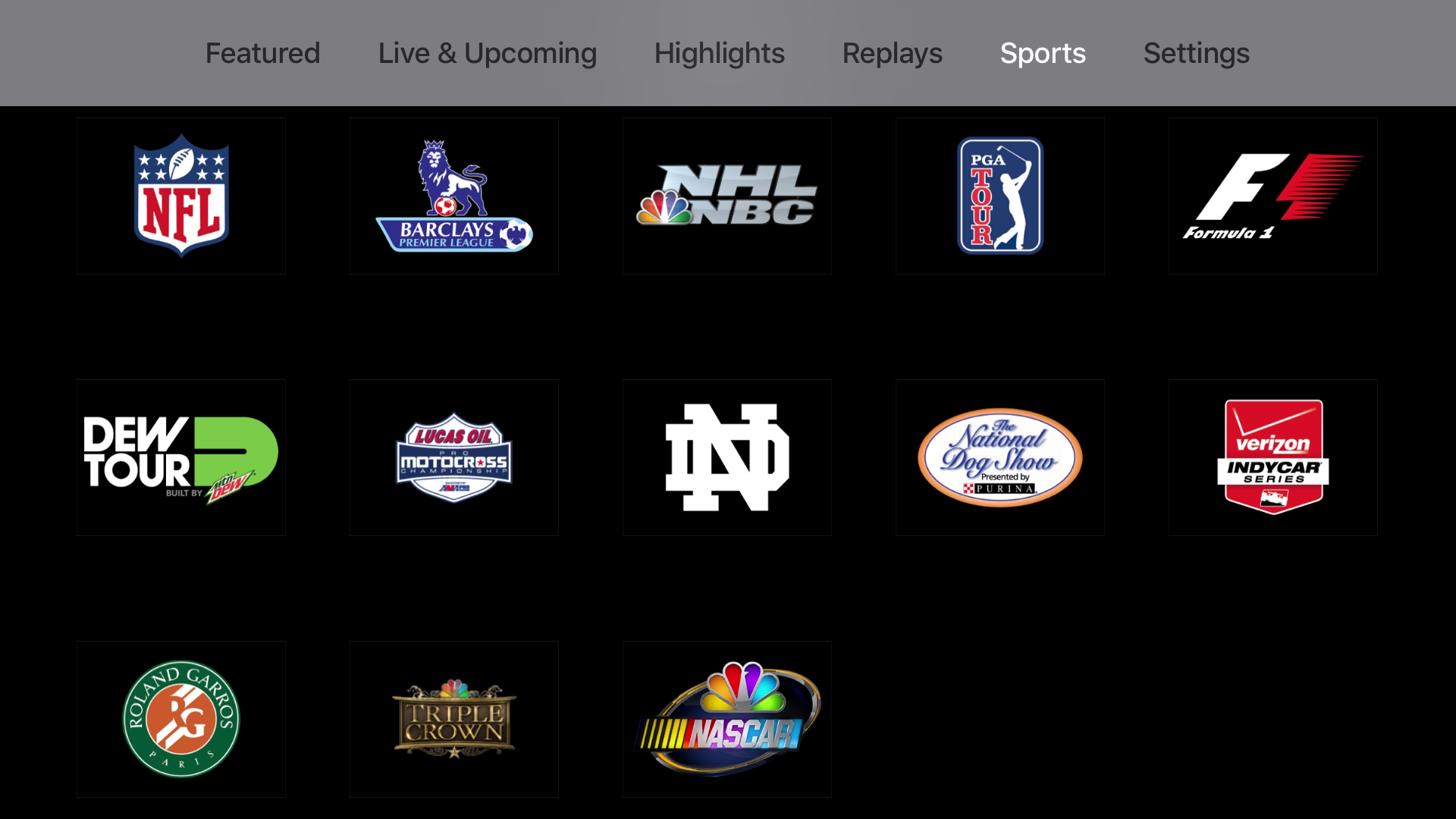 NBC Sports screenshot 13