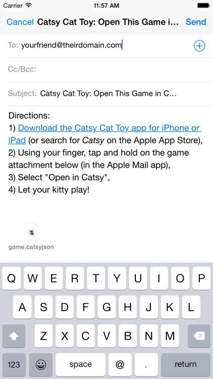 Catsy Cat Toy: Customize & Share screenshot-4