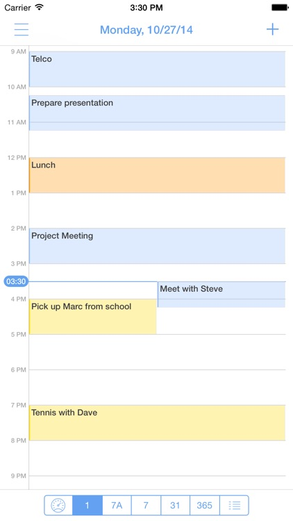 miCal - the missing calendar with reminders