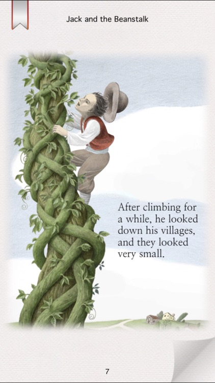 Jack and the Beanstalk - Interactive Storybook