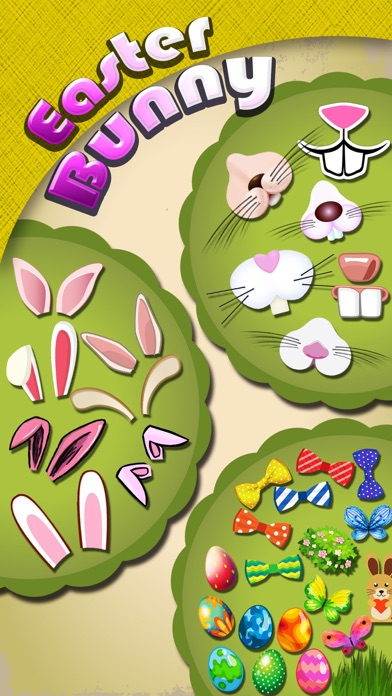 Easter Bunny Yourself - Holiday Photo Sticker Blender with Cute Bunnies & Eggs Screenshot