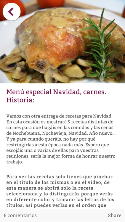 Cocina Familiar - Recetas screenshot-3