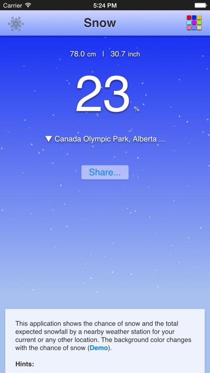 Chance of Snow - Pro screenshot-3