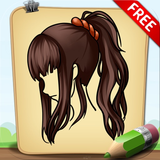 Learn To Draw Hairstyles and Haircuts Free