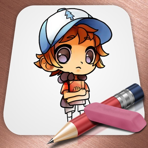 Draw for GravityFalls