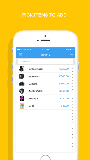InvoiceMaker   Simple Invoice Maker To Send PDF Invoices U0026 Estimates For  Free On The App Store  Pdf Invoice Maker