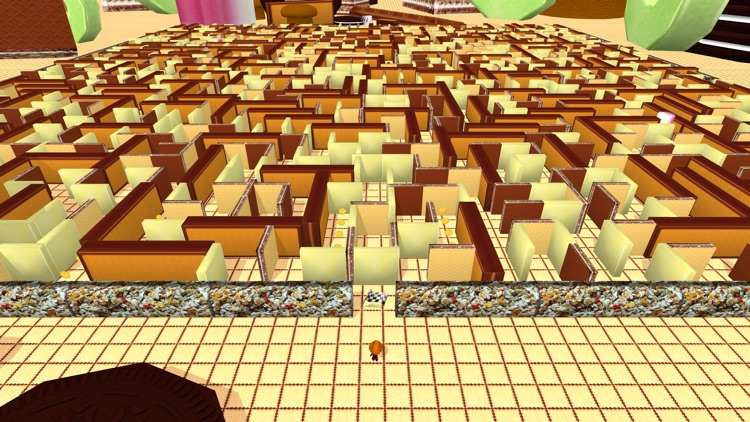 Sweetie Maze 3D - Solve Delicious Labyrinth screenshot-4
